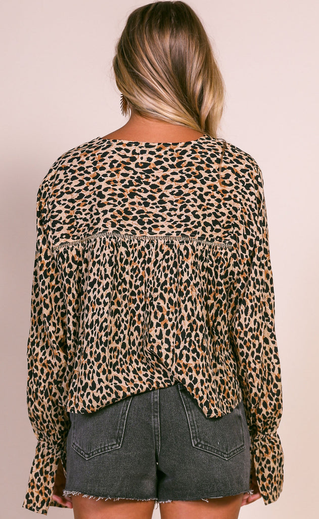 amuse society: savannah woven top