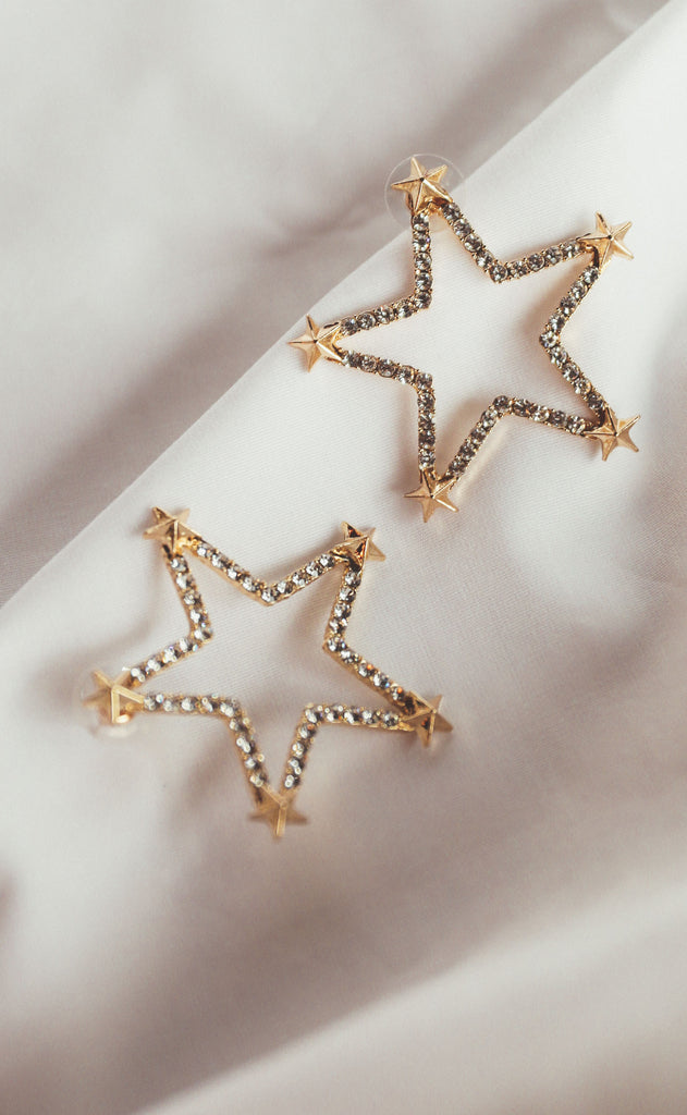treasure jewelry: twinkle little star earrings