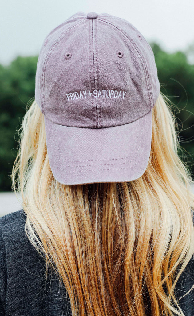 friday + saturday: logo hat