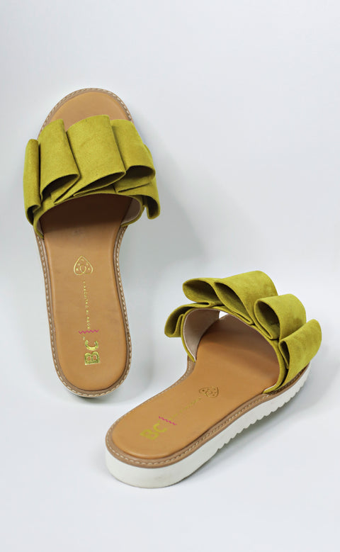 fun for all ages sandal - yellow