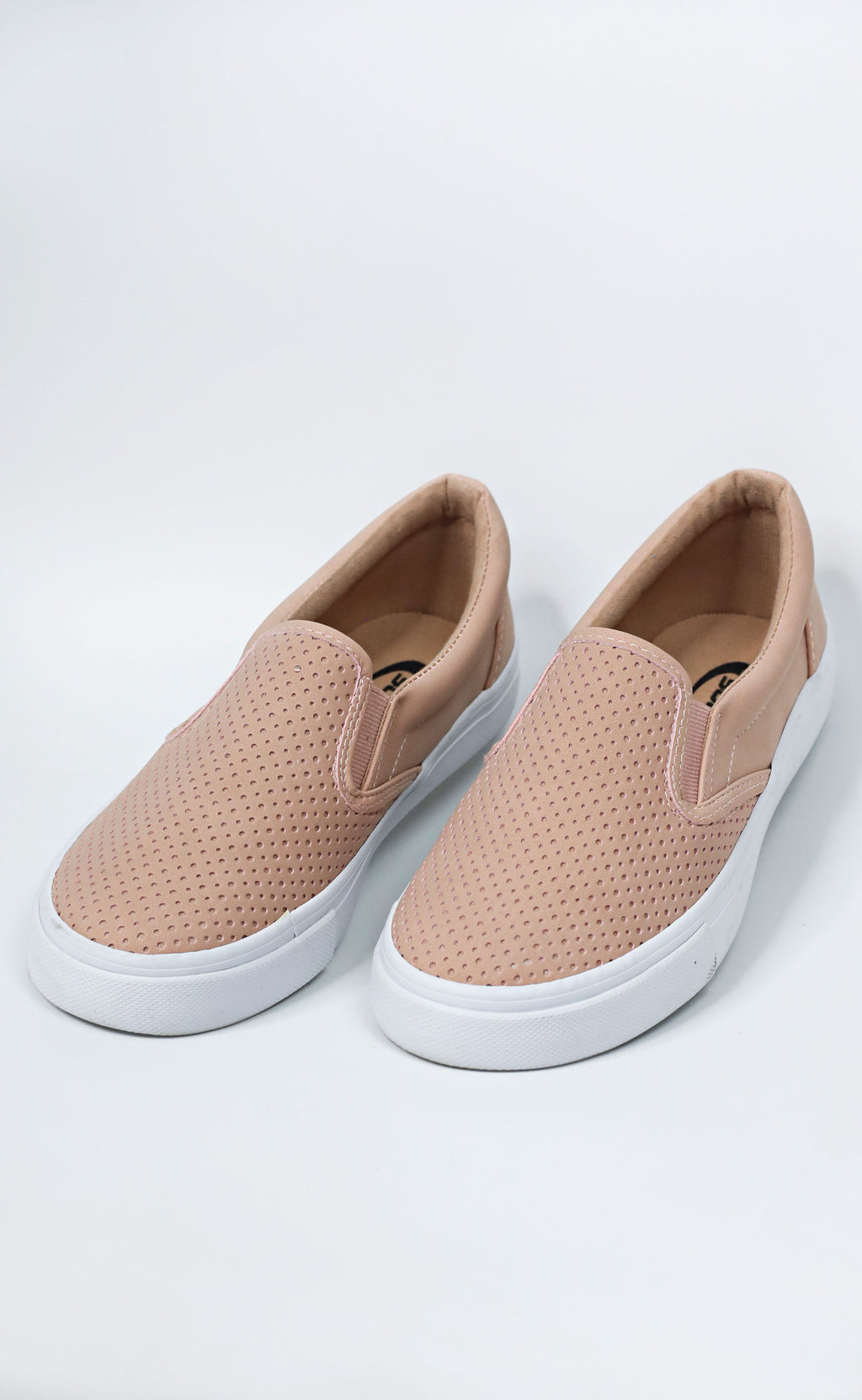 keepin' things casual sneaker - blush