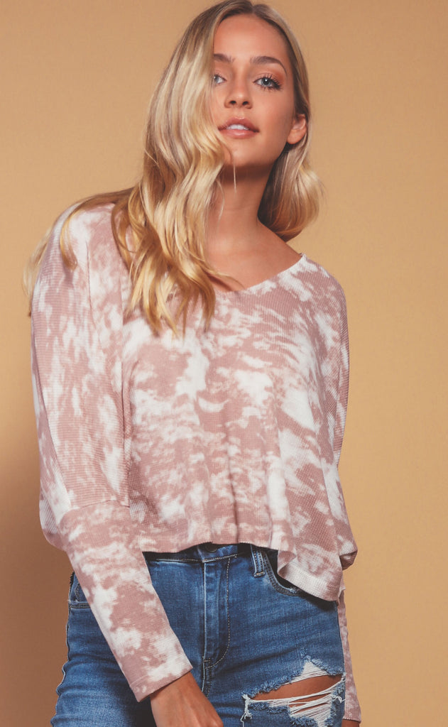 canyon tie dye top