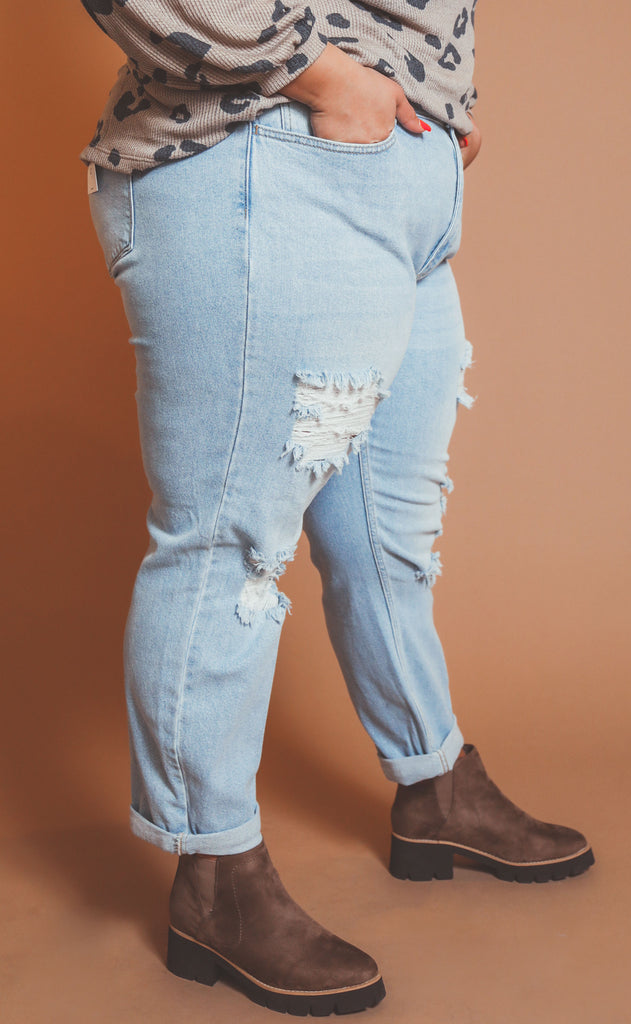true vintage high waisted jean - extended