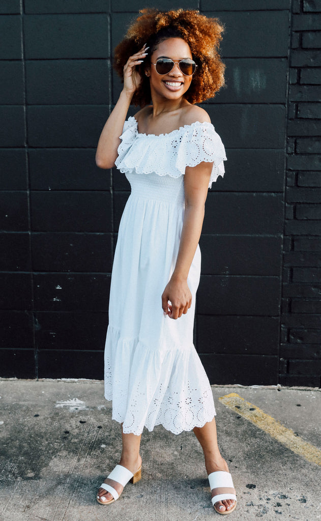 going to the chapel eyelet dress