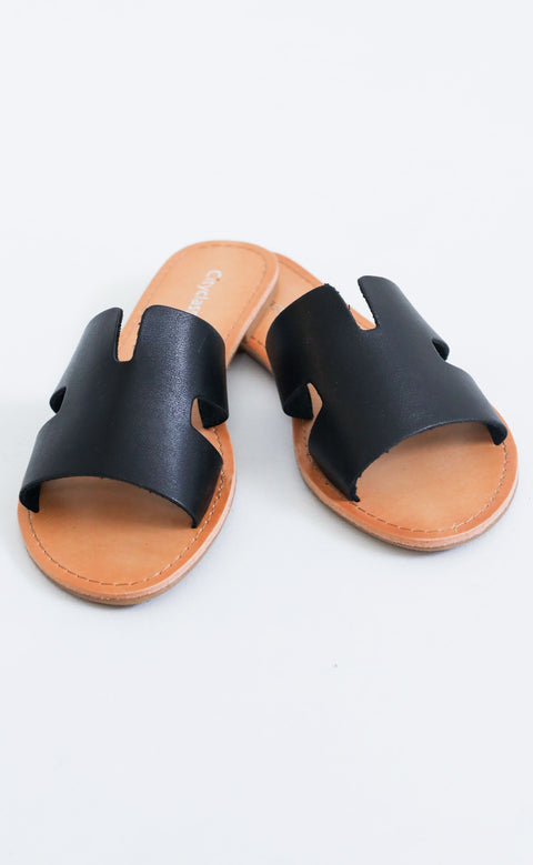 on the horizon sandal - black