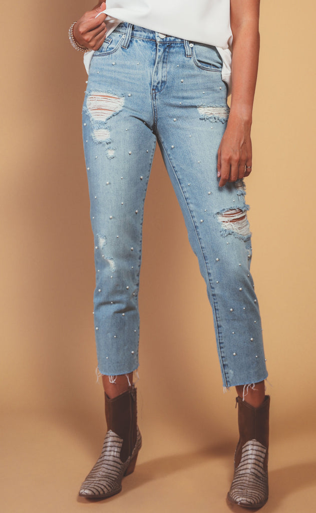 blank nyc: the madison crop jean - love letter