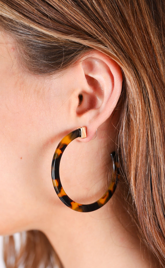 rockport hoop earrings