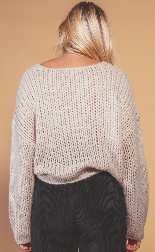 amuse society: desert skies knit sweater