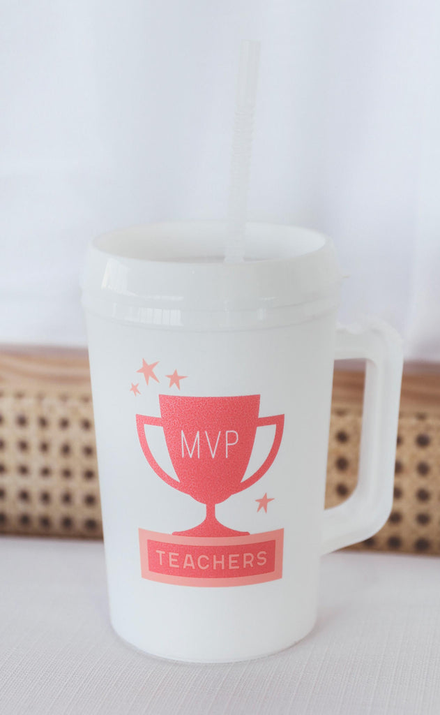 charlie southern: teachers most valuable profession insulated mug - 34 oz.