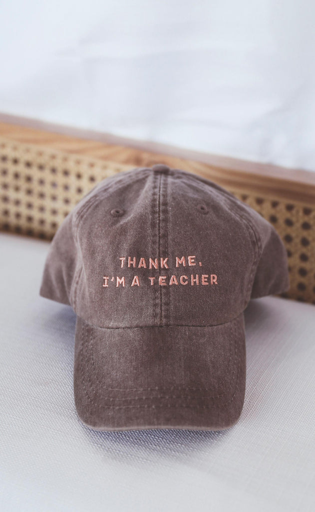 charlie southern: i'm a teacher hat