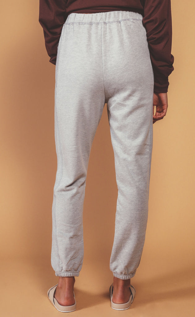 fireside fleece joggers - grey