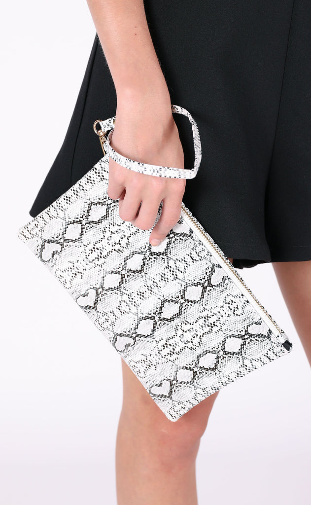 snake it clutch - grey