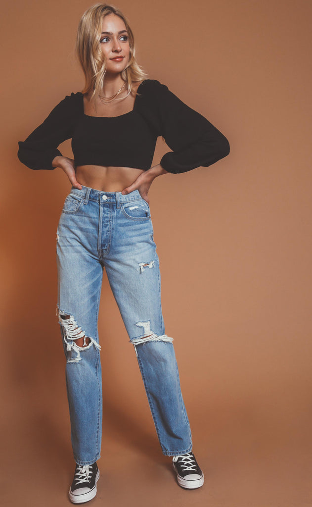 not your boyfriend's high rise jeans