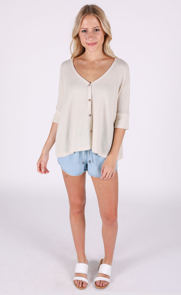 sunrise button up top