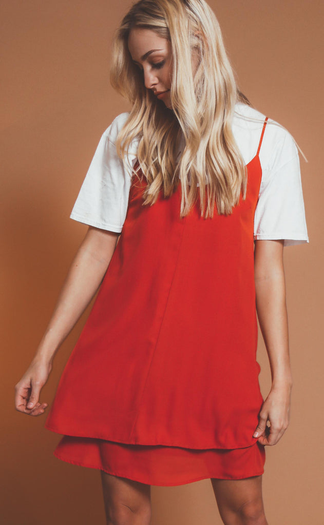 love struck slip dress
