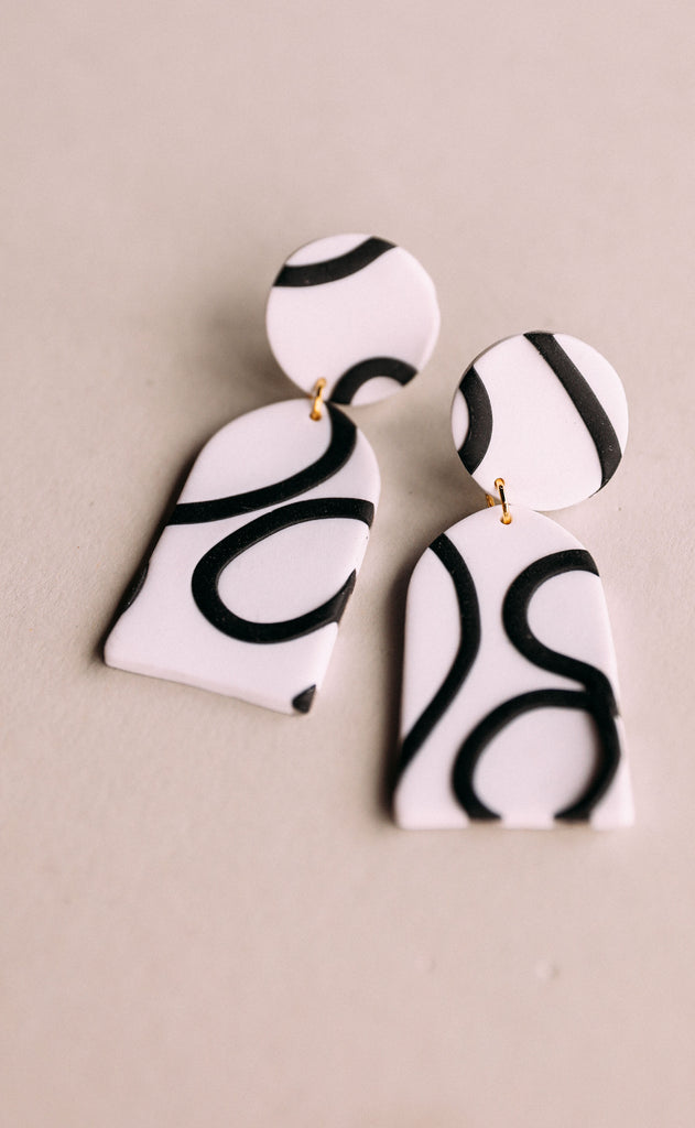 poppy dot: halley earrings - riffraff