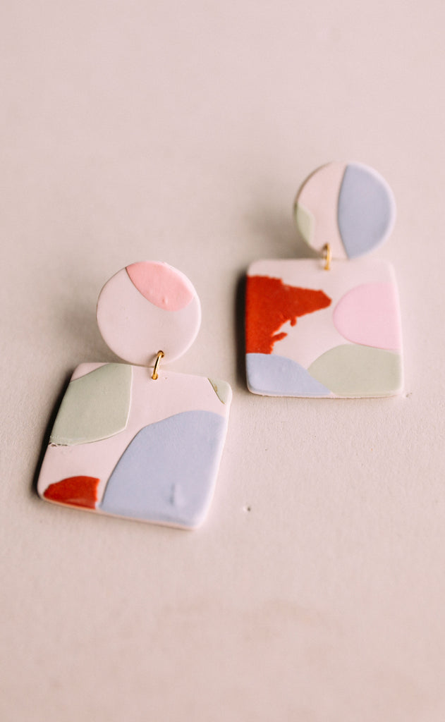 poppy dot: millie earrings