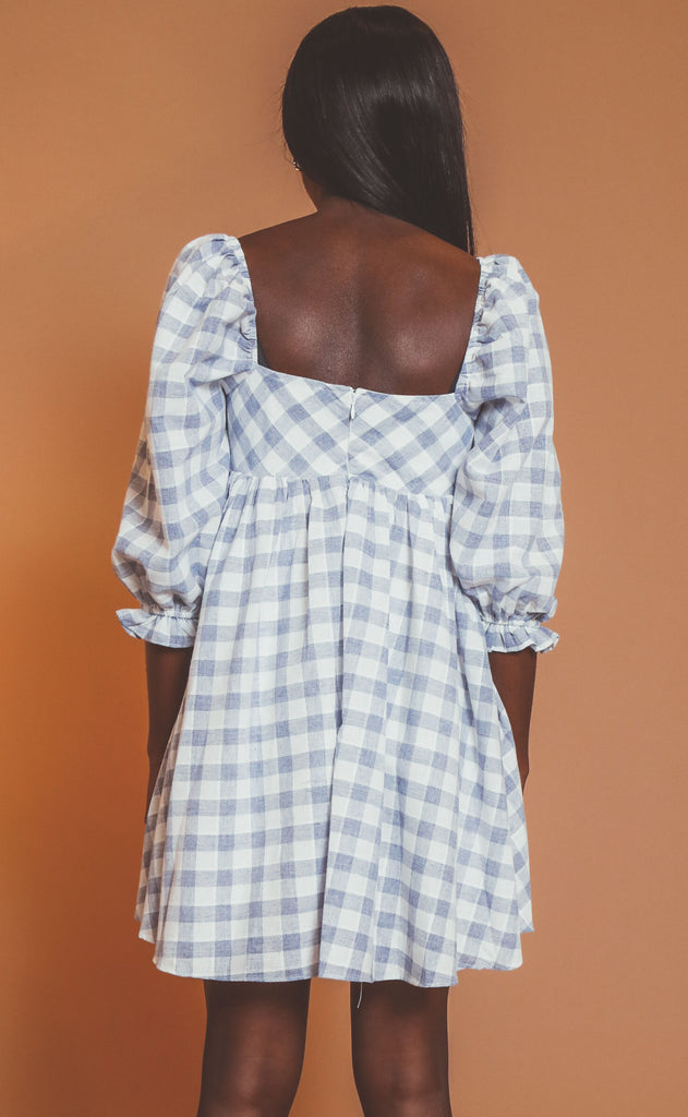 picnic weather babydoll dress