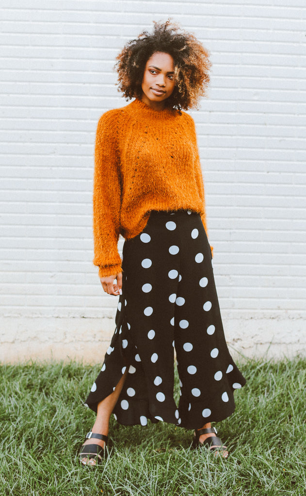 seeing spots printed pants