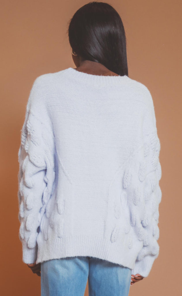 sweetest dreams knit sweater