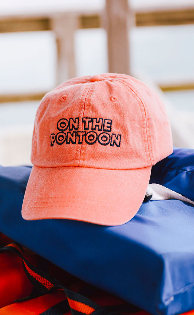 friday + saturday: on the pontoon hat