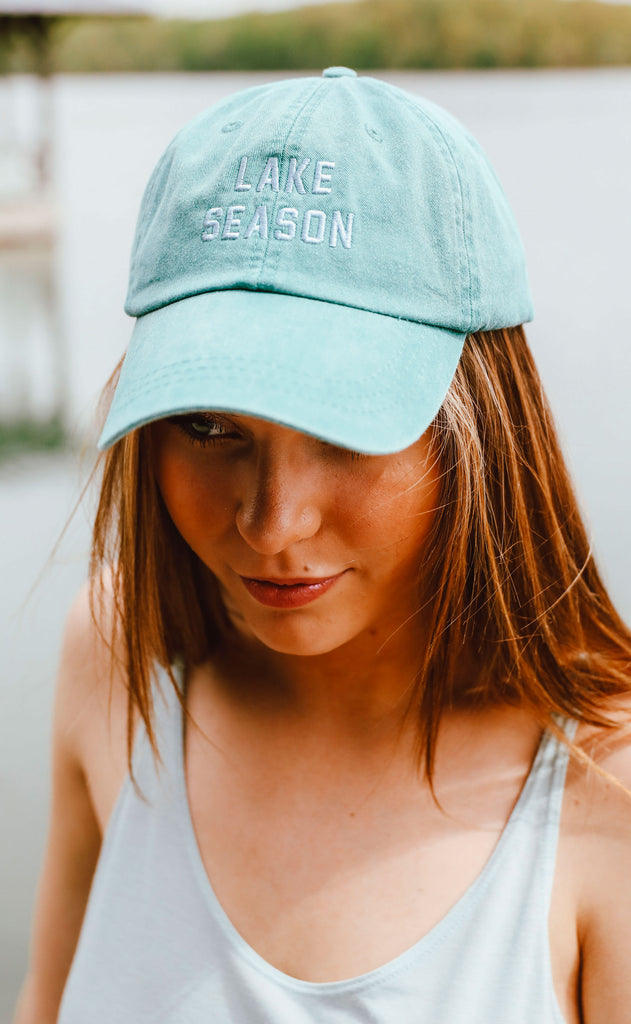 charlie southern: lake season hat - teal