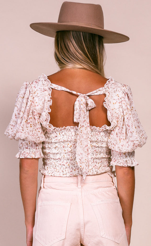 love at first sight woven top