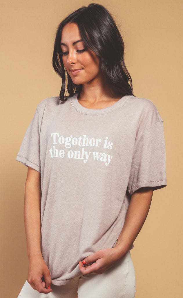 know purpose: together is the only way tee