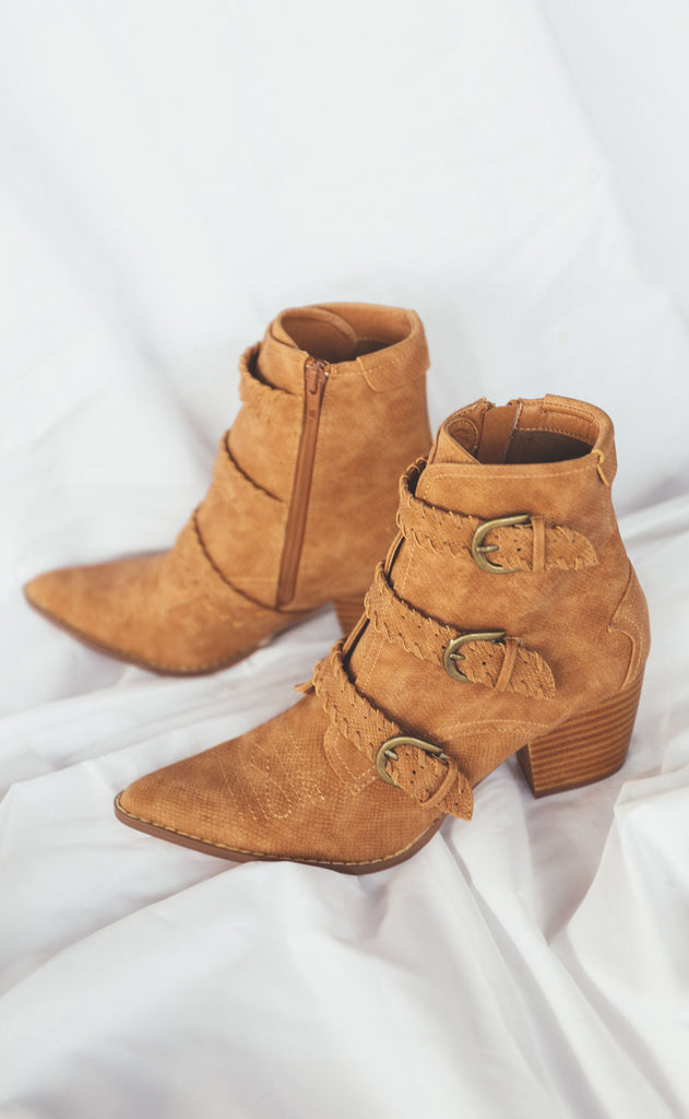 coconuts by matisse: charmer bootie
