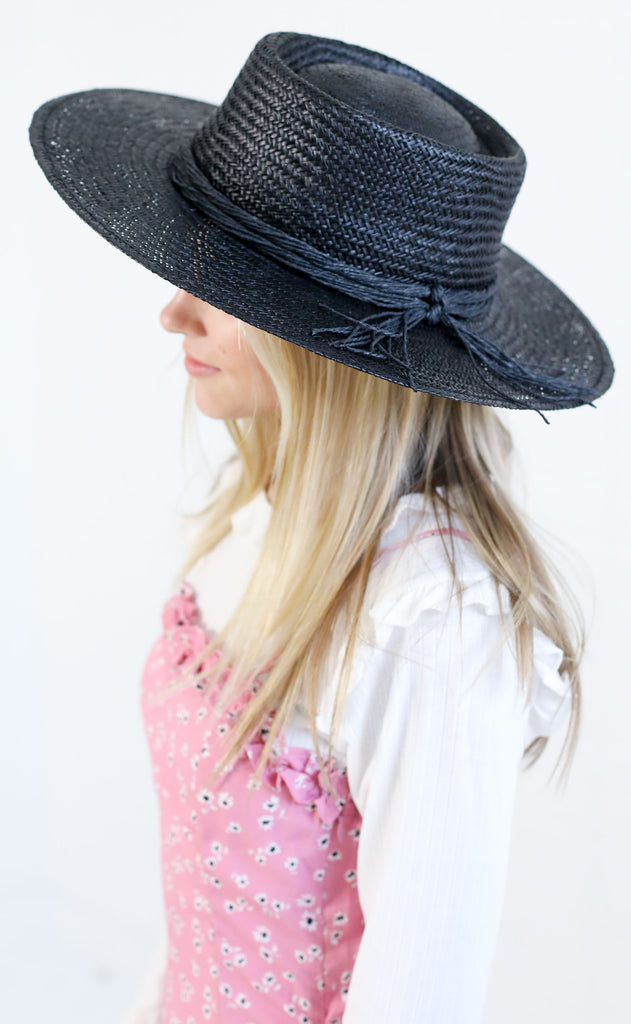 amuse society: beach bolero hat