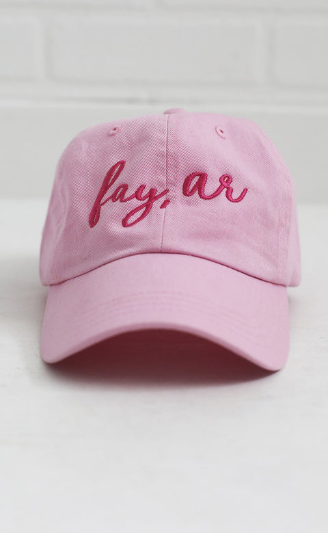charlie southern: fay, ar hat - pink