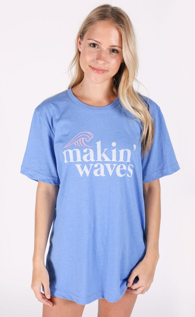 charlie southern: makin' waves t shirt