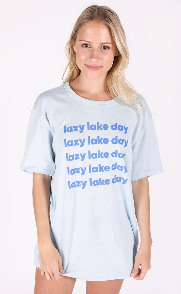 charlie southern: lazy lake day t shirt (PREORDER)
