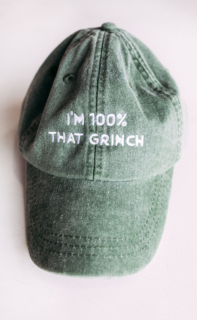 friday + saturday: 100% that grinch hat