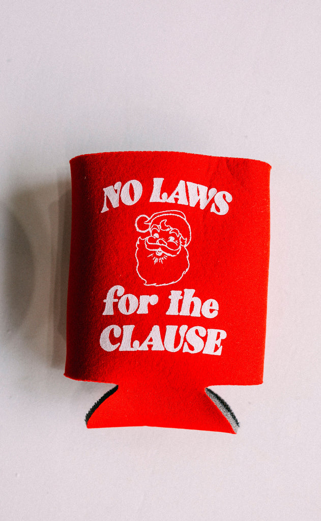 friday + saturday: no laws for the clause drink sleeve