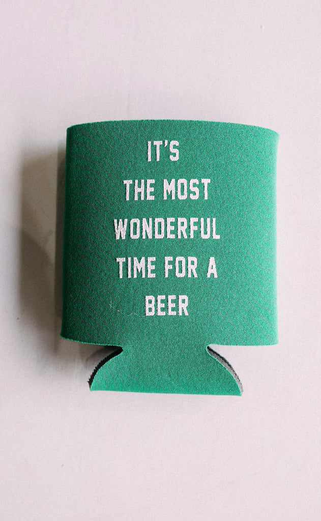 friday + saturday: it's the most wonderful time for a beer drink sleeve