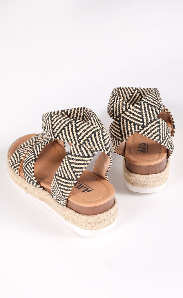high hopes platform sandal