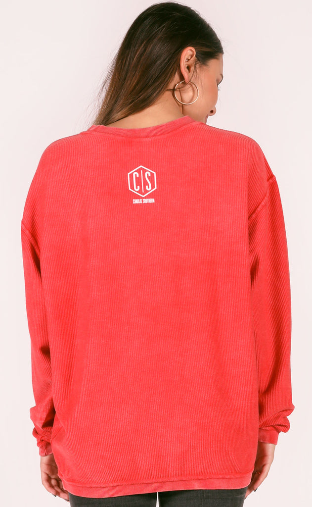 charlie southern: filthy animal corded sweatshirt