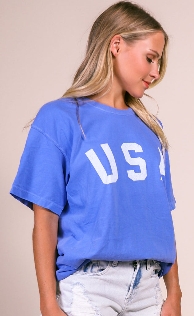 charlie southern: usa comfort colors t shirt