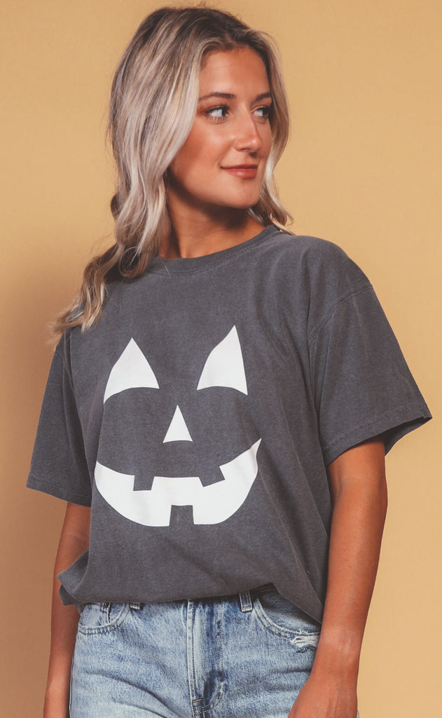 charlie southern: jack-o-lantern glow in the dark t shirt