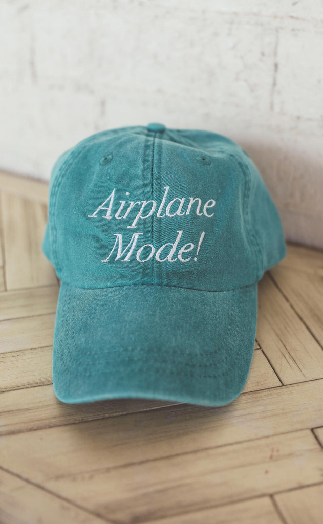 friday + saturday: airplane mode hat