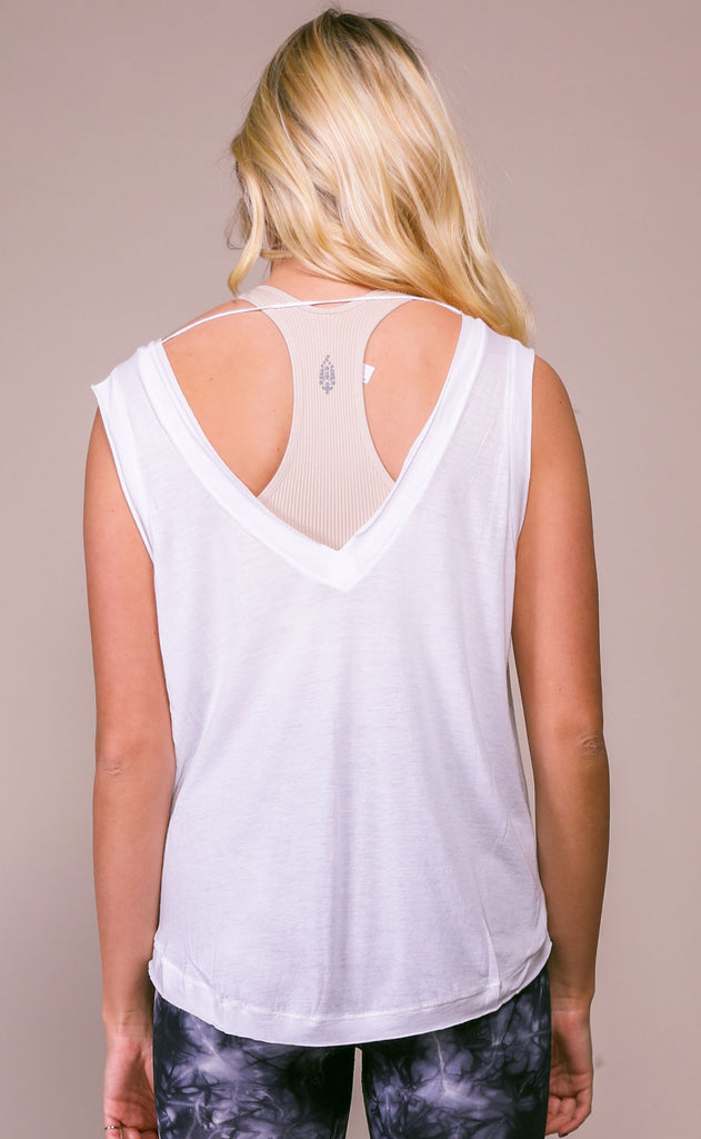 free people movement: henry tank - white