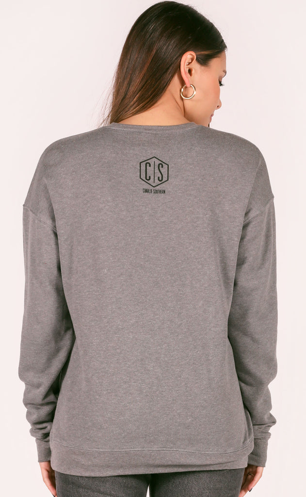 charlie southern: bubble state sweatshirt - arkansas