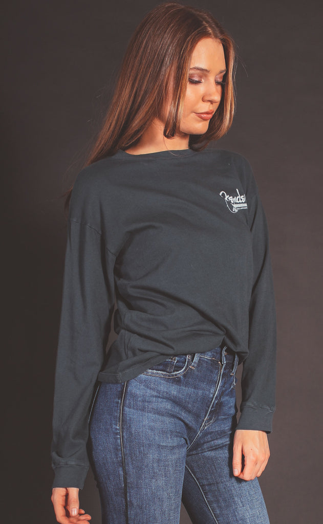 daydreamer: fender the sound oversized long sleeve tee