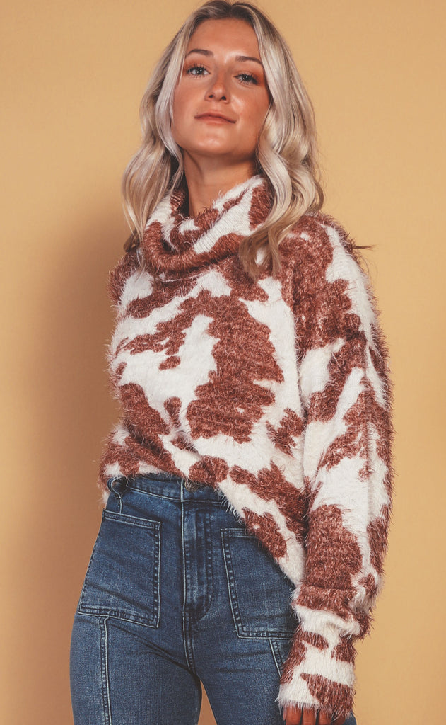 show me your mumu: frances sweater - holy cow knit