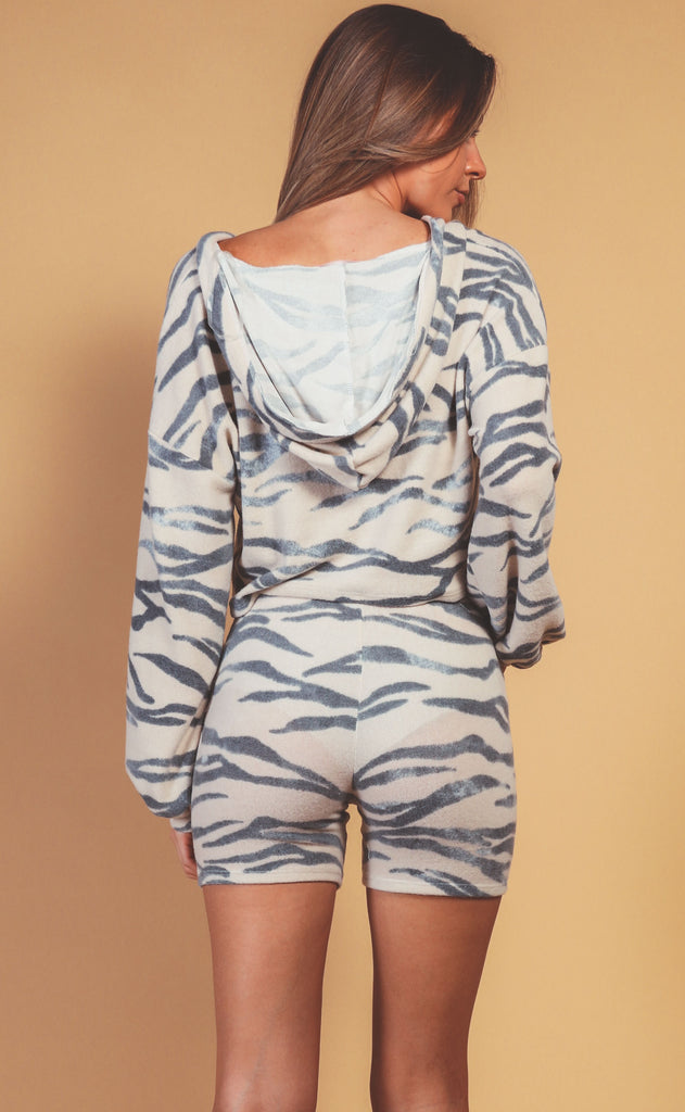 safari cozy two piece set - midnight