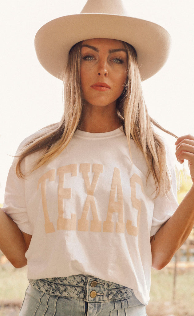 charlie southern: state summer jersey t shirt - texas