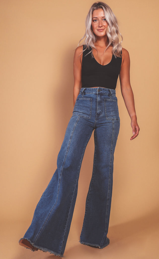 show me your mumu: ashbury wide leg jeans - stillwater