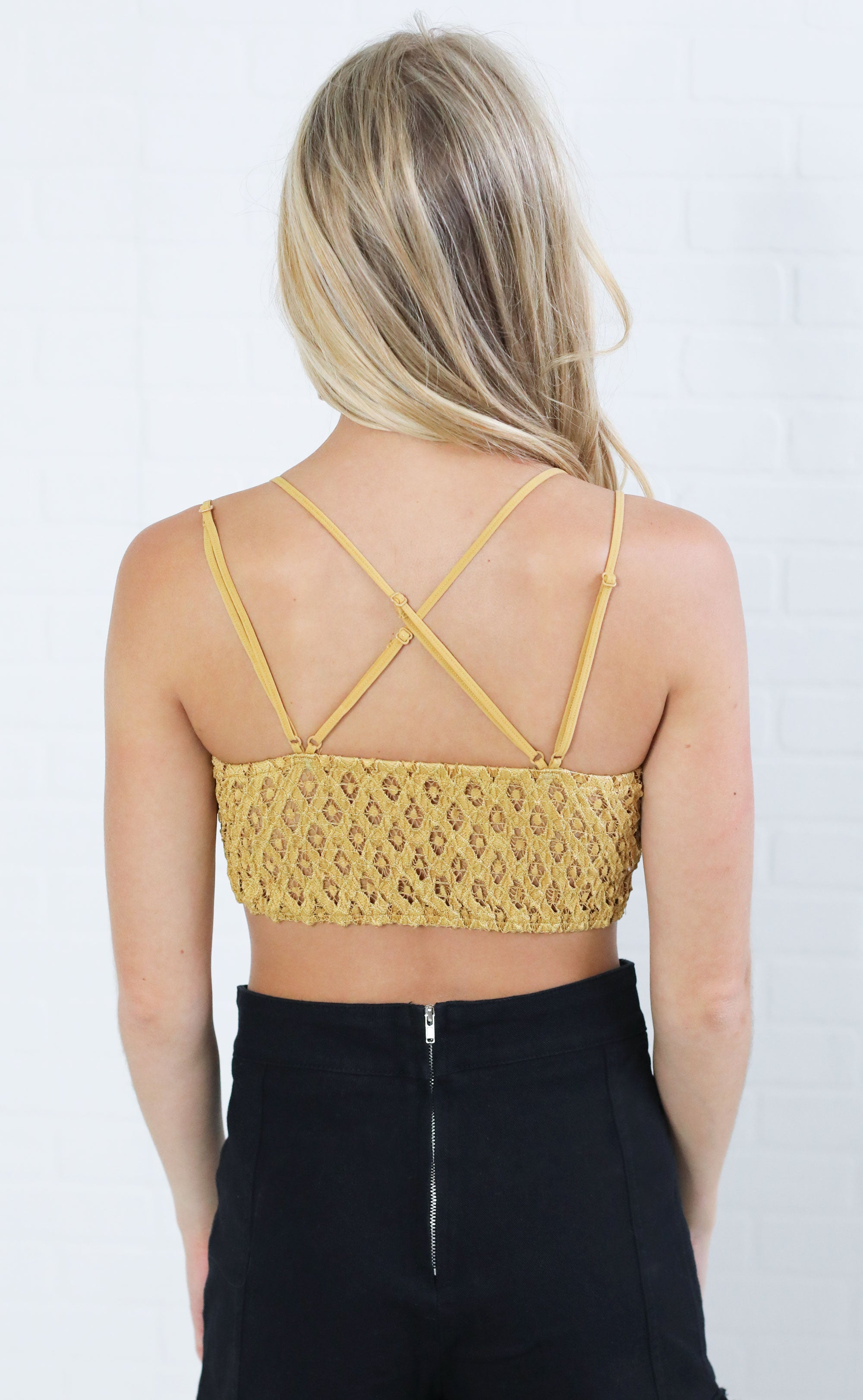 eb4cfc82acc lovely in lace embroidered bralette - mustard. lovely in lace embroidered  bralette - mustard