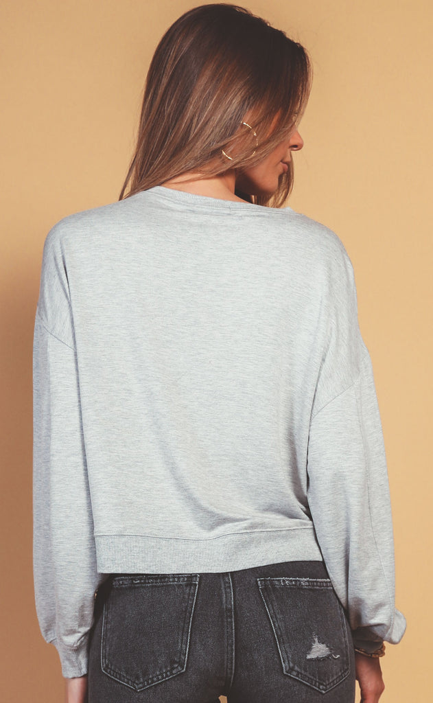 z supply: surrey pullover - heather grey